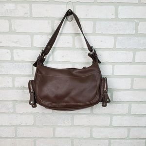 Nine West Brown Purse Faux Leather